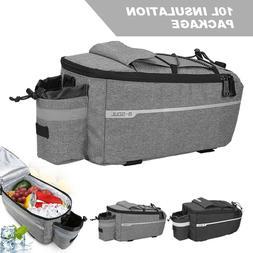 B-SOUL Bicycle Bike Rear Seat Rack Bag Insulation Cool Stora