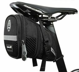 Bicycle Saddle Bags Rainproof Pannier 3D Shell Reflective Re