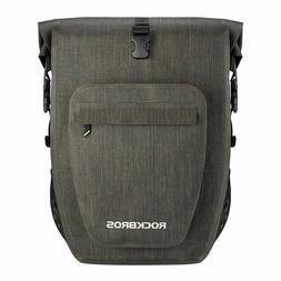 ROCKBROS Bike 100% Waterproof Pannier Bicycle Rear Seat Bag