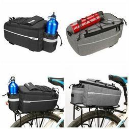 Bike Motor Bicycle Rear Rack Seat Trunk Saddle Tail Storage