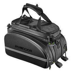 RockBros Cycling Bag Rear Carrier Bag Rack Pack Trunk Pannie