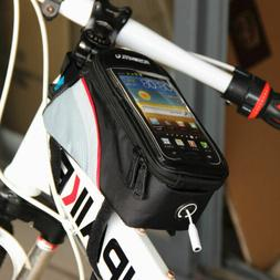 Cycling Bags Bicycle Frame Pannier Bike Bag for Cell Phone 5