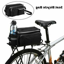 Cycling Bicycle Rear Seat Storage Bag Bike Panniers Saddle R