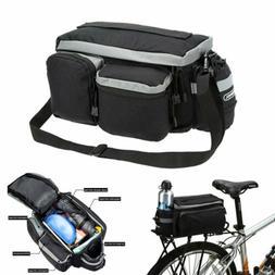 Cycling Bicycle Rear Seat Storage Trunk Bag Bike Pannier Rac