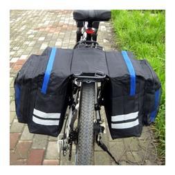 Double Side Pouch Bike Frame Pannier Bag Bicycle Saddle Bag
