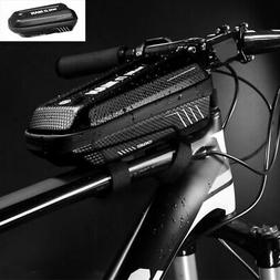 Front Bicycle Frame Waterproof Hard Shell Bag Cycling Bike H