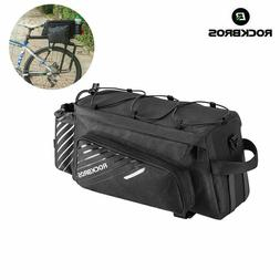 ROCKBROS MTB Bike Bicycle Bag Rear Shelfbag Large Capacity B