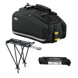 Topeak MTX EXP Bicycle Trunk Bag with Folding Panniers and E