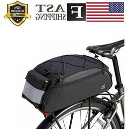 Sahoo Bike Rack Bag Bike Pannier Rear Rack Bike Bag Back Pac