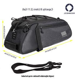 Sahoo Essential Series Convertible Bike Trunk Bag/Pannier Cy