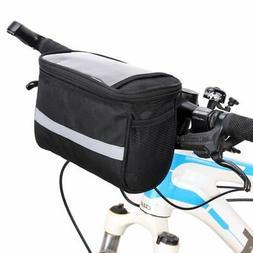 Sports Cycling Bike Bicycle Front Basket Handlebar Bar Bag O