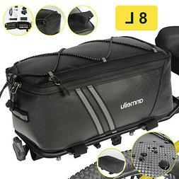 Waterproof Bicycle Rear Rack Seat Bag Bike Cycling Storage P