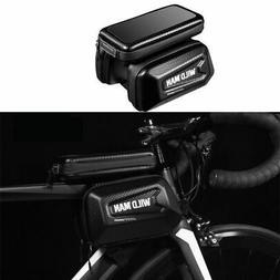 Cycling Bicycle Bike Frame Pannier Saddle Front Tube Bag Dou